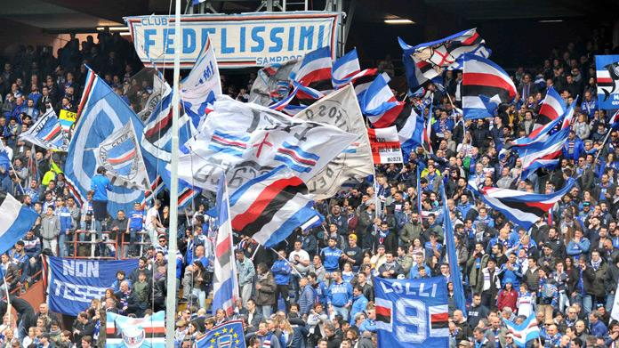 sampdoria tifosi gradinata sud