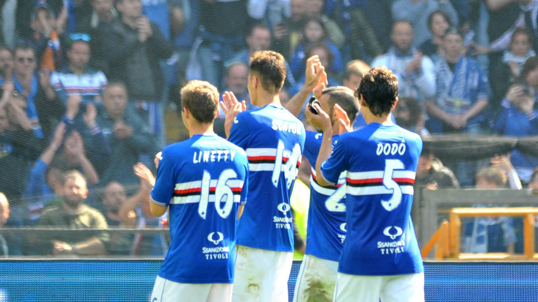 sampdoria retrocesse