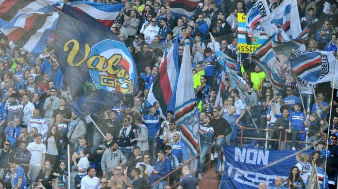 sampdoria gradinata
