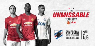 manchester united sampdoria