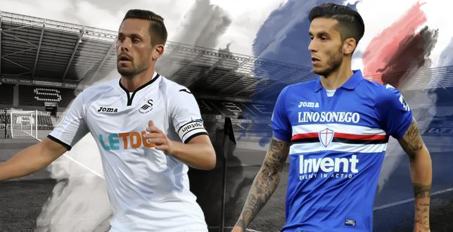 Swansea-Sampdoria