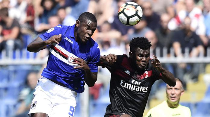 Sampdoria Milan zapata