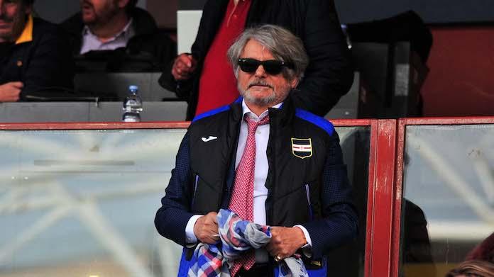 Sampdoria, Ferrero: 'Sbagliato comprare per comprare, Giampaolo...'