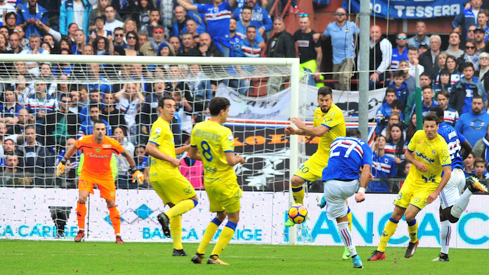 Serie A, 30ª giornata: probabili formazioni e streaming Chievo-Sampdoria