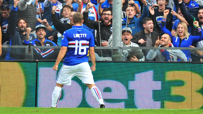 Linetty Sampdoria giampaolo