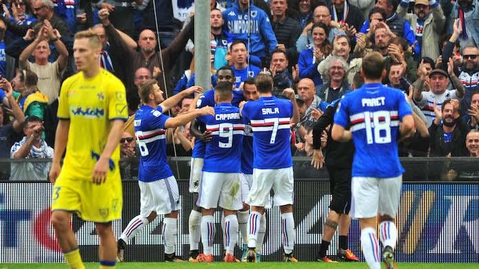 Coppa Italia, Sampdoria-Pescara 4-1: Kownacki doppietta, ora la Fiorentina