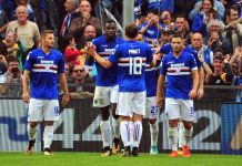 Sampdoria streaming