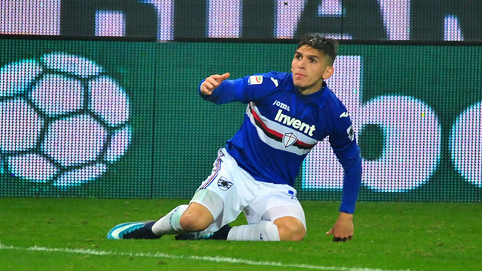 torreira sampdoria moviola