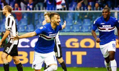 esultanze Sampdoria ferrari