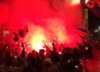 raduno tifosi sampdoria derby
