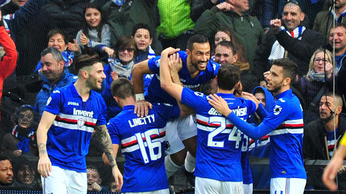 Sampdoria quote