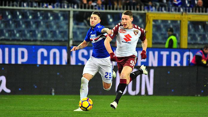 Torino sampdoria le probabili formazioni samp news 24 for Priolo arredamenti torino