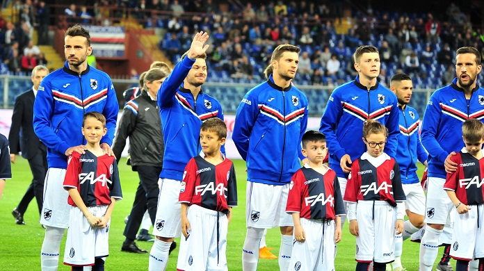 La Sampdoria saluta col Napoli: