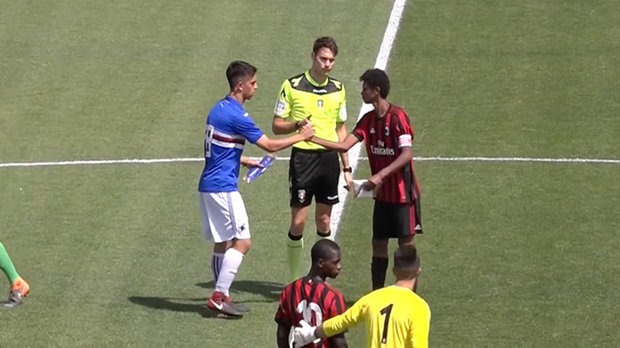 Under 17 sampdoria milan