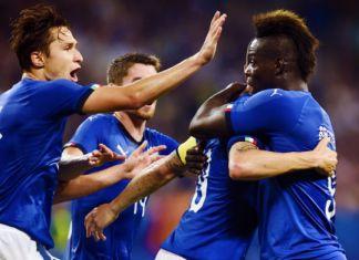 nazionale italiana esultanza italia