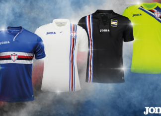 maglie sampdoria kit