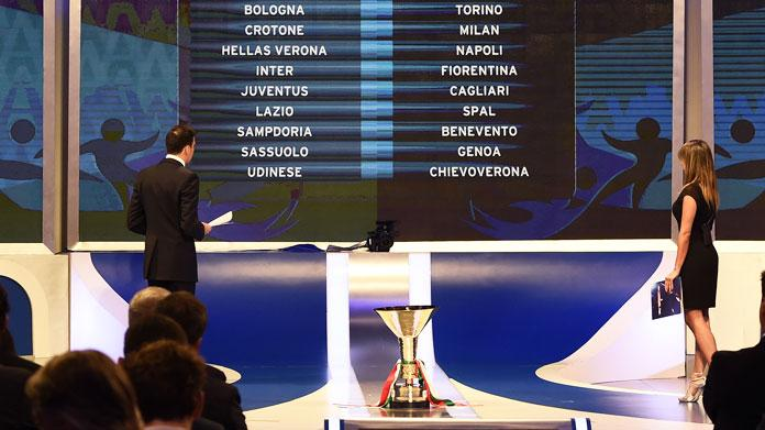 Calendario Serie A Milan Inter.Serie A 2018 2019 Il Calendario Della Sampdoria Samp News 24