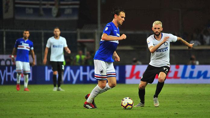 L'Inter batte anche la Sampdoria e mantiene la testa del campionato (1-3)