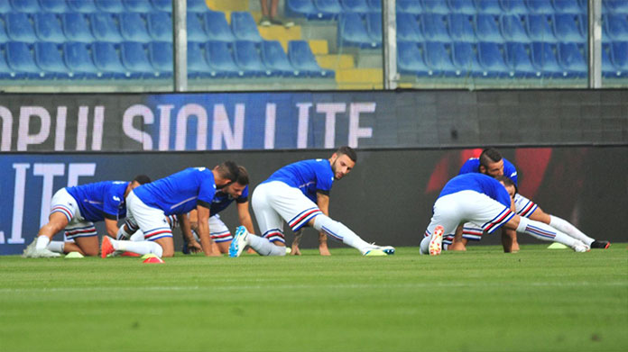 Sampdoria infortunati