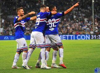 Sampdoria Pagelle