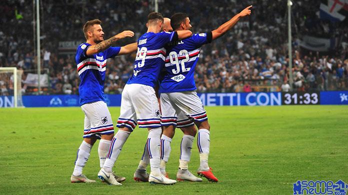 Sampdoria Pagelle
