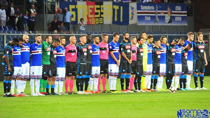 Sampdoria Napoli formazioni