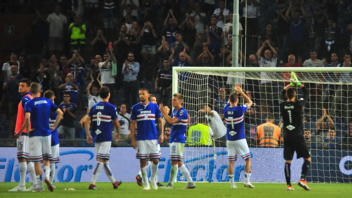 Serie A, Inter all'ultimo tuffo: 1-0 a Genova contro la Sampdoria