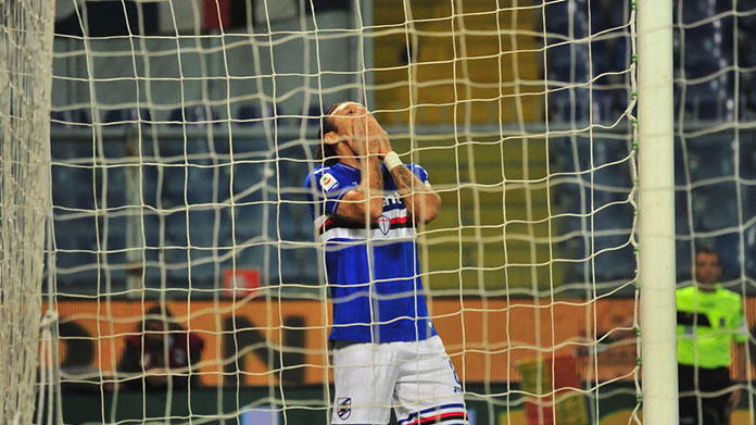 barreto sampdoria infortunati