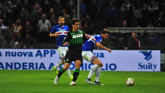 Sampdoria Sassuolo live