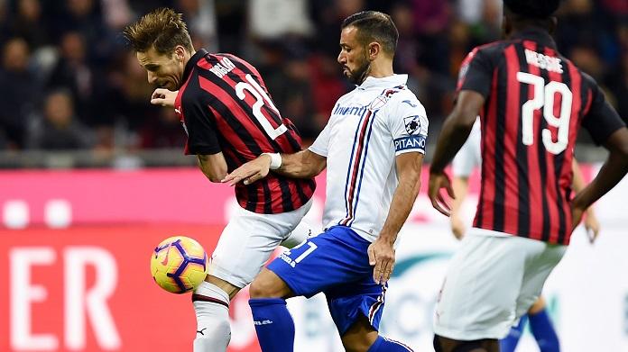 SAMPDORIA - Ekdal ko per la sfida con il Milan