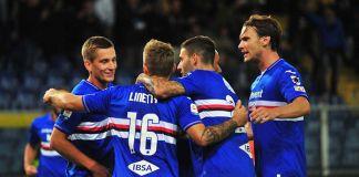 esultanza Sampdoria