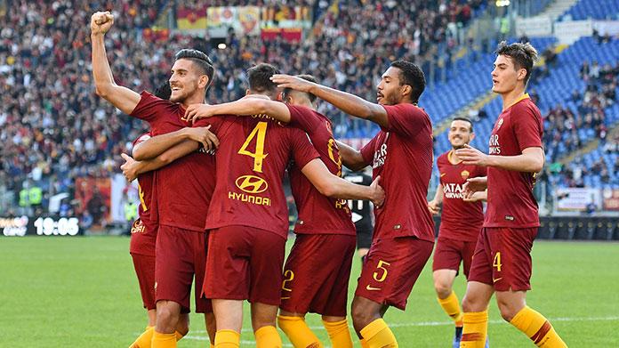 esultanza roma-sampdoria