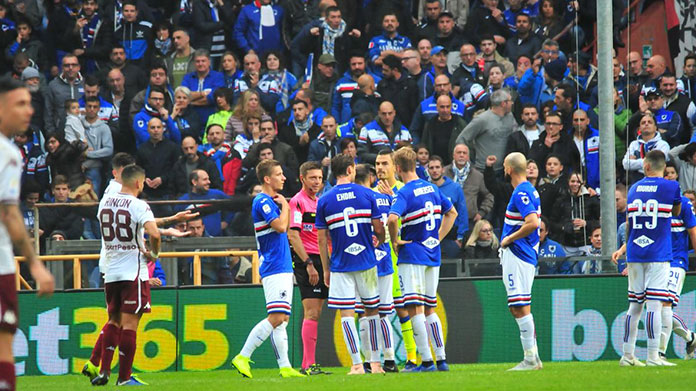 convocati Sampdoria