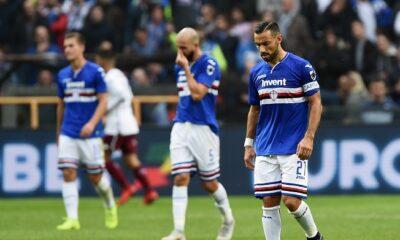 Sampdoria Torino probabili formazioni