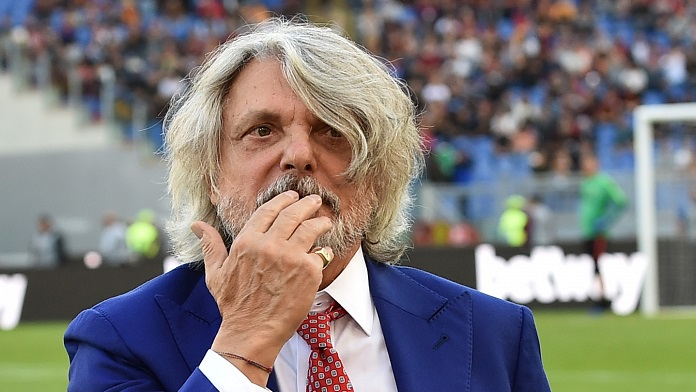 Sampdoria, minacce a Ferrero: