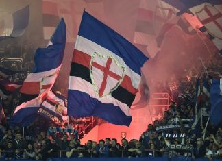 gradinata sud derby genoa-sampdoria