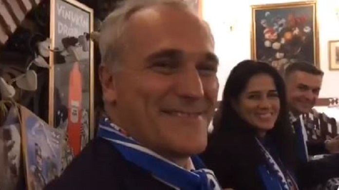 sampdoria club parlamento ferrero video