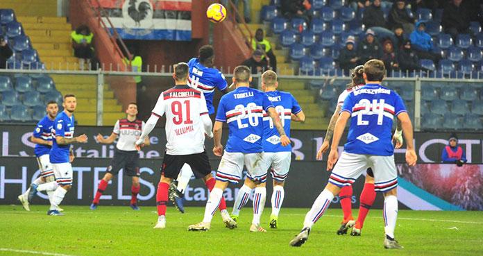 Bologna-Sampdoria 3-0: sintesi e tabellino