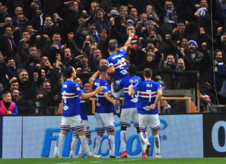 Sampdoria assist