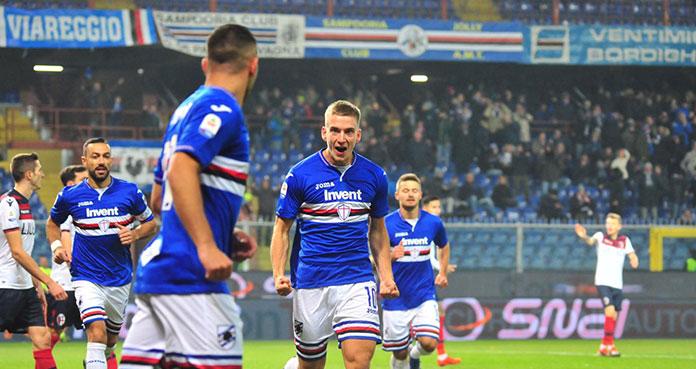 sampdoria highlights Praet