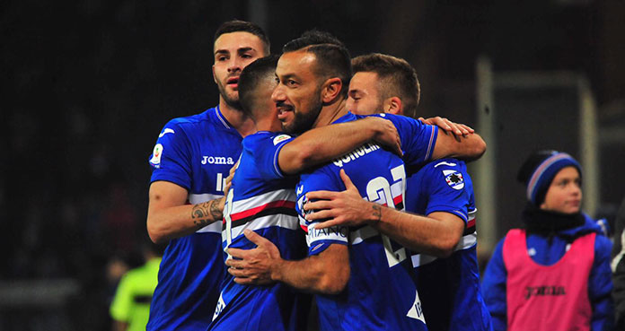 sampdoria top 11
