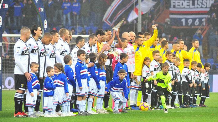 Serie A: una partita si giocherà a maglie invertite. Ecco il perché