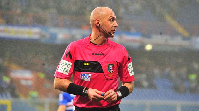 pairetto arbitro napoli-sampdoria