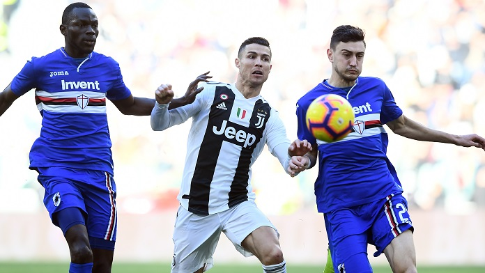 juventus sampdoria Ronaldo sampdoria-juventus colley ferrari