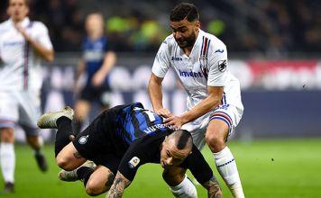 defrel nainggolan inter-sampdoria
