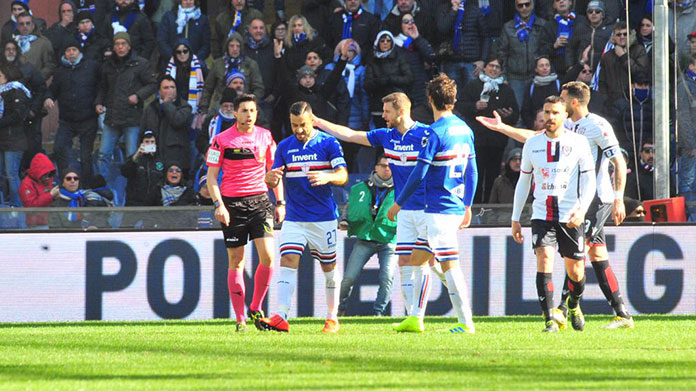 Sampdoria Cagliari 1 0 Gli Highlights Video Samp News 24