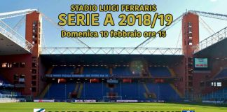 streaming sampdoria frosinone