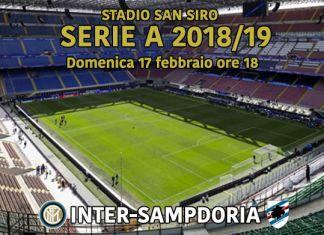 streaming, sampdoria, inter, serie a
