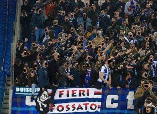 roma-porto tifosi champions league sampdoria