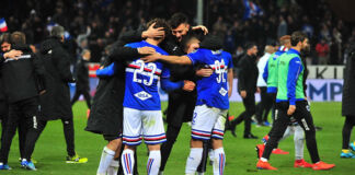 Sampdoria ritiro